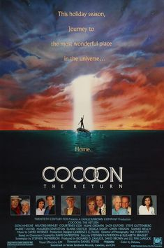 Cocoon: the Return (1988) Original One Sheet Movie Poster