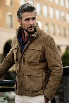 I'm not sure 'bout the collar, but this jacket/coat is perfect.  #menswear #style