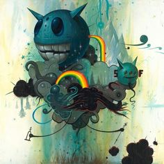 Thunderclouds by Jeff Soto