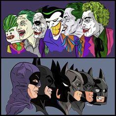 Batman vs the Joker! Joker Batman, Joker Art, Batman Art, Joker And Harley Quinn, Gotham Batman, Batman Robin, Comic Books Art, Comic Art, Univers Dc