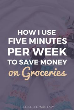 Grocery Shopping on a Budget | Save Money on Groceries | How to Save Money on Groceries | Saving Money on Food | Without Coupons | Frugal Living | Budget | Budgeting | Saving Money | Tips | Apps | Hacks | Easy Ways to Save Money | Save Money With Your Pho
