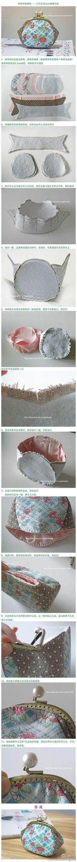 Coin purse bag tutorial.: