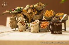 Fontanini Nativity, Christmas Nativity, Fruits And Veggies, Fresh Fruit, Decoration, Cribs, Scenery, Nazareth Village, Bethlehem