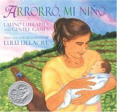 I sing this lullaby to him every night......Arrorro, Mi Nino by Lulu Delacre,http://www.amazon.com/dp/1600604412/ref=cm_sw_r_pi_dp_GVDmtb00955YKTWM