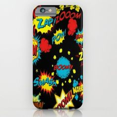 Bladow Pow iPhone & iPod Case by Lilbudscorner
