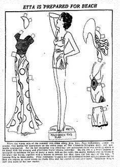 Etta Kett paper doll 1932