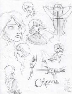 Celaena sketches