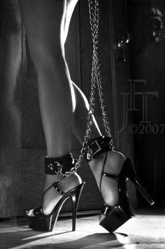 Chains, and beautiful legs!