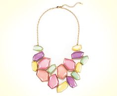 NEW Rocking Pastels Necklace available now on www.meetmark.com! #fashion #color #summer