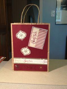 #homemade gift bag