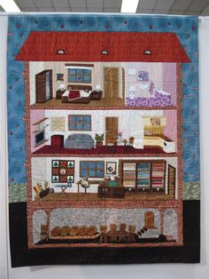 Patchwork Japones - 11 Quilt Nihon - Bordados de Ayer y Hoy Dollhouse Quilt, Diy And Crafts, Arts And Crafts, Cute Quilts, Fabric Paper, Applique Quilts, Paper Dolls, Sewing Projects, Embroidery