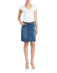 Denim Skirt | Lord and Taylor