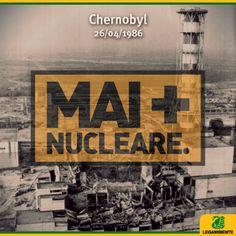 28 anni fa l'esplosione della centrale #nucleare di #Chernobyl. Oggi molti bambini che vivono in zone contaminate hanno ancora bisogno di assistenza medica. Diamogli una mano -> http://www.solidarietalegambiente.org/ #maipiùnucleare