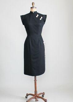 Perfect vintage black dress v3