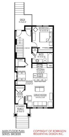 Allison Ramsey Architects Floorplan For Ashepoo River