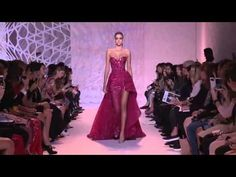 Zuhair Murad Haute Couture Fall/Winter 2014-2015, COMPLETE SHOW - YouTube