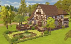 Tudor Home - The Sims 4 - Download