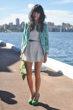 A girl from here. The Melbourne Street style. www.melko.com.au