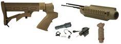 Racks 73961: Fde Mossberg Maverick 88 500A 590 Shotgun 6 Position Stock+Forend+Laser+Led Kit -> BUY IT NOW ONLY: $138.99 on eBay!
