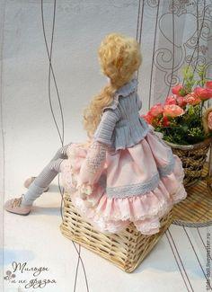 Купить Кукла Тильда: Любочка - тильда, кукла Тильда, куклы тильды, текстильная кукла ☆