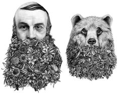 Surreal Graphite Drawings by 'Violaine & Jeremy' Merge Nature and Humor  http://www.thisiscolossal.com/2014/07/surreal-graphite-drawings-by-violaine-jeremy-merge-nature-and-humor/