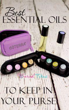 Best Essential Oils to Keep in Your Pursewww.healinginourhomes.com #doterra #essential #oils #healinginourhomes
