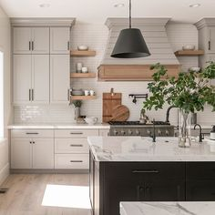 """Rebekah Westover on Instagram: """"Parade of Homes time is coming up soon and I cannot wait to see all the beautiful homes😍 This kitchen is from the 2019 @uvparade and it's a…"""" Parade Of Homes, Modern Farmhouse, Home Kitchens, Beautiful Homes, New Homes, Kitchen Cabinets, Home Decor, Future, Instagram"""