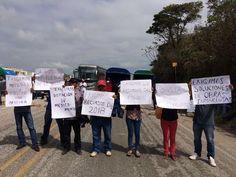 Agentes municipales de Matías Romero exigen atención de su presidente, piden recursos.