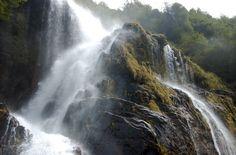 Cascada e Puerto Ramirez, Palena