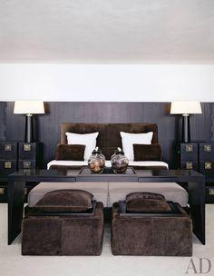 Modern Bedroom by Anouska Hempel in Salzburg, Austria