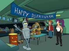 Chanukah/Robanukah - Futurama | 10 Science Fiction Holidays Based In Reality
