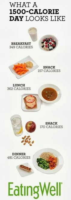 Most people will lose weight on a daily diet of calories, which is the total calorie count for all the food pictured here. Add 500 calories for nursing Healthy Habits, Healthy Tips, Healthy Choices, Healthy Snacks, Healthy Recipes, Healthy Weight, Free Recipes, Eating Healthy, Diet Snacks