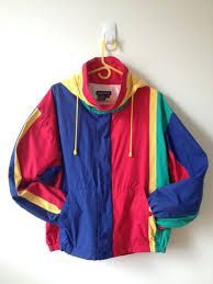 vintage nautica color block jacket with by vintspiration (Tech Style Long Sleeve) Vintage Outfits, Retro Outfits, Outfits For Teens, Fashion Guys, 80s Fashion, Fashion Outfits, Vintage Fashion 90s, Celebrities Fashion, Petite Fashion