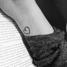 Make Your Love Permanent With These 50 Adorable Heart Tattoos: We're loving the ladies and gentlemen who have taken the leap, made the commitment, and gotten marked with some permanent heart-shaped ink, big and small.