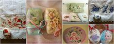 Aprende la técnica de cómo decorar toallas y jabones de baño ~ cositasconmesh Decoupage, Fresh Rolls, Diy, Ethnic Recipes, Hand Soaps, Diy And Crafts, Flower, Recycled Glass, Decorating Cups