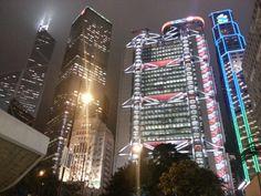Hong Kong at Night, personal photo