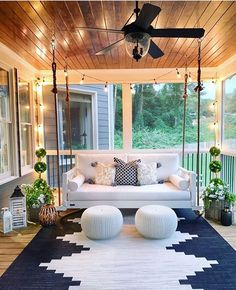 Modern Home Decor 20 Gorgeous And Inviting Farmhouse Style Porch Decorating Ideas.Modern Home Decor 20 Gorgeous And Inviting Farmhouse Style Porch Decorating Ideas House Design, House, Home, Outdoor Spaces, House Exterior, New Homes, House Interior, Home Interior Design, Porch Swing
