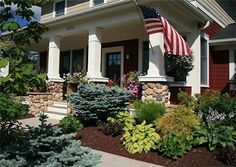 Front Porch Landscaping     Yahoo Image Search Results | Outdoor Spaces |  Pinterest | Front Porches, Porch And Outdoor Spaces
