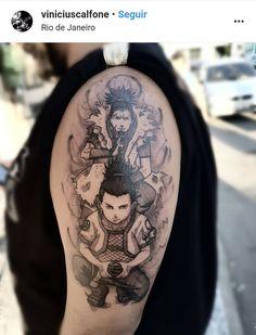 tattoo do naruto Anime Tatoo, Naruto Tattoo, Gaara, Shikamaru, Itachi, Naruto Shippuden, Tattoo On, First Tattoo, Time Tattoos