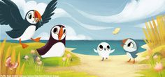 puffin rock animation - Google Search