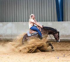 Reining Reining Horses, Dressage, Quarter Horses, Cowgirls, Badass, Lion Sculpture, Statue, Animals, Beautiful