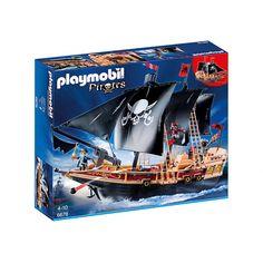 Witajcie:) Piątek, Piąteczek ... Kochamy:) Weekendzik przed nami:)  Nowy Zestaw Playmobil 6678 - Piracki Statek Bojowy dla dzieci od lat 4. Fantastyczny świat piratów już na Ciebie czeka!  Każdy pirat posiada swój własny statek, którym przemierza morza w poszukiwaniu złota.  Sprawdźcie sami:) Miłego Weekendu:)  http://www.niczchin.pl/playmobil-piraci/3065-playmobil-6678-piracki-statek-bojowy.html  #playmobil #piraci #statek #zabawki #weekend #niczchin #krakow