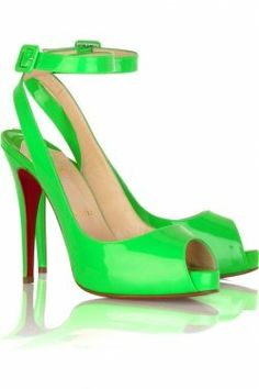 2012 Spring/Summer Biggest Shoe Trends ~ No color is too shocking, and no heel is too high!