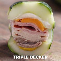 Triple Decker Sub Recipe by Tasty