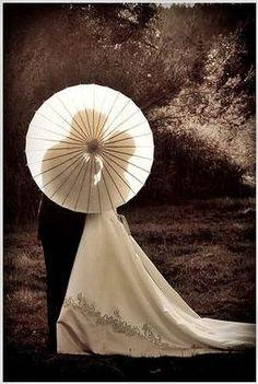 Une idée originale photo de couple de mariage