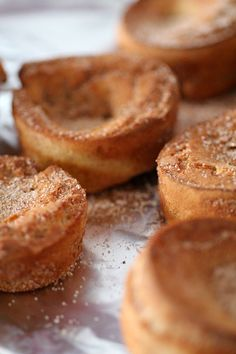Cinnamon and sugar popovers for breakfast