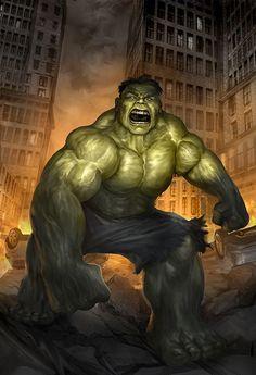#Hulk #Fan #Art. (Hulk) By: Chrisscalf. (THE * 5 * STÅR * ÅWARD * OF: * AW YEAH, IT'S MAJOR ÅWESOMENESS!!!™)[THANK U 4 PINNING!!!<·><]<©>ÅÅÅ+(OB4E)