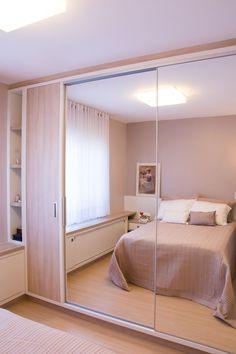 Confira uma bela seleção de quartos planejados com funções, estilos e tamanhos diferenciados, podendo atender as mais variadas necessidades e inspire-se.