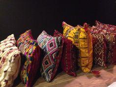 Marokkaanse woonkussens, nu binnen, straks in de online shop.