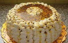 Torta de parchita con chantilly de parchita - 9no Concurso de Cocina